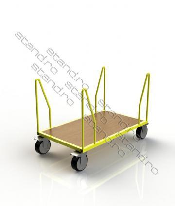 Carucior industrial transport marfa 0044-4 de la Rolix Impex Series Srl