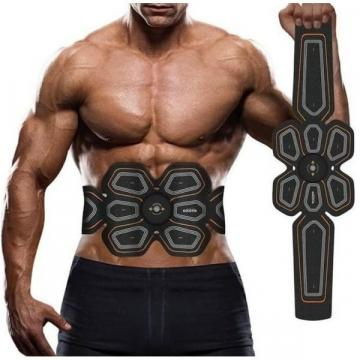 Centura electrostimulare Six Pack EMS Goldtin pentru abdomen de la Www.oferteshop.ro - Cadouri Online
