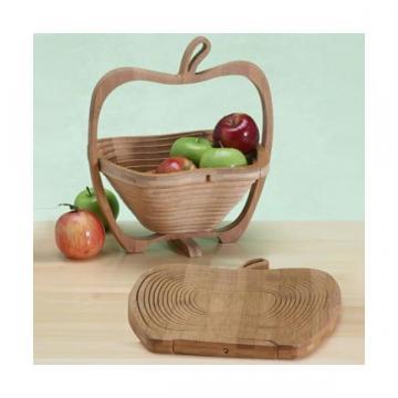 Cos fructe pliabil din lemn