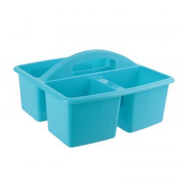 Cos menaj cu 3 compartimente - bleu