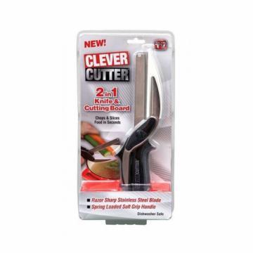 Cutit pentru bucatarie multifunctional Smart Cutter 2 in 1 de la Www.oferteshop.ro - Cadouri Online