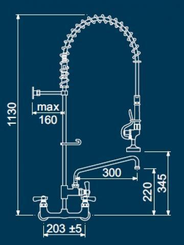 Dus prespalare vase cu doi robineti 549875