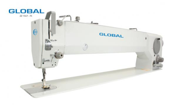 Masina de cusut cu brat lung Global ZZ 1567-75 de la Senior Tex