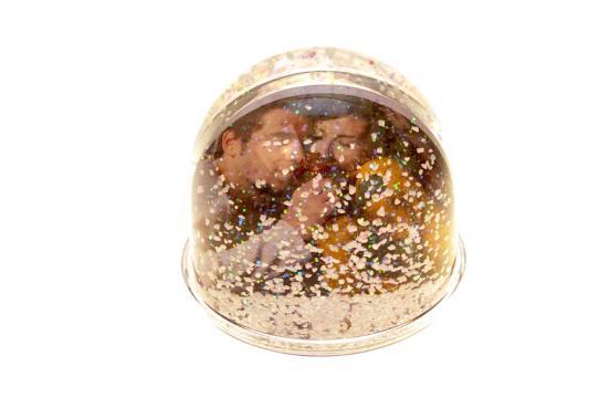 Glob mini cu zapada de la Alconcept Product SRL