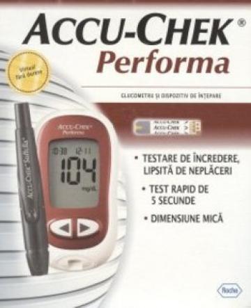Glucometru ACCU-CHEK Performa de la Donis Srl.