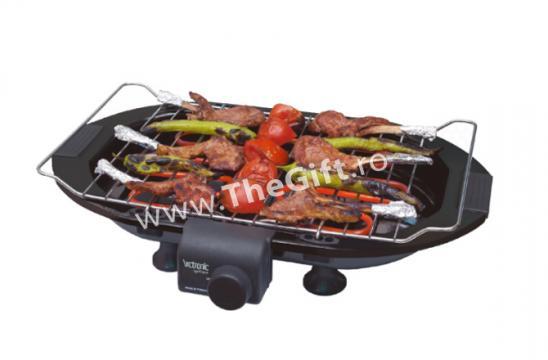 Gratar electric, grill din inox, 2000W