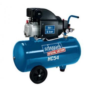 Compresor cu piston, putere 1.5 kW, HC 54 Scheppach
