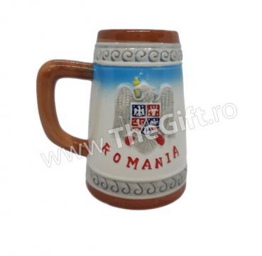 Halba din ceramica Romania, Castelul Peles