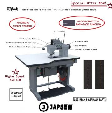 Masina de cusut hand-stitch Japsew 785-D de la Senior Tex