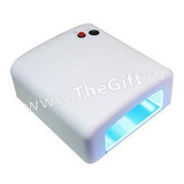 Lampa UV 36 W pentru unghii, cu timer