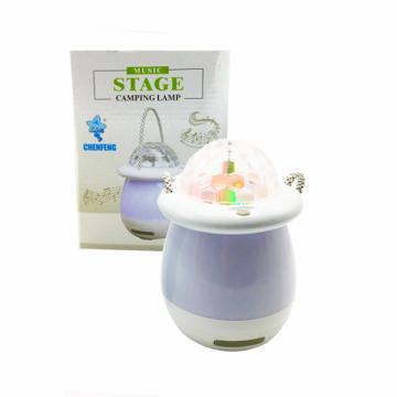 Lampa cu led Music stage camping lamp de la Www.oferteshop.ro - Cadouri Online