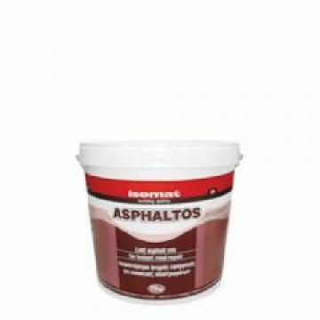 Mixtura asfaltica cu aplicare la rece Isomat Asphaltos 25 kg de la Izotech Services