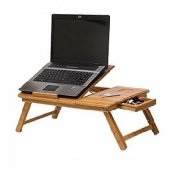 Masuta laptop - Masa E-Table din bambus