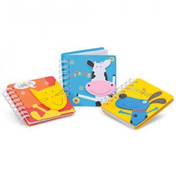 Mini agenda coperti lemn Animale de la Plasma Trade Srl (happymax.ro)