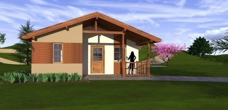 Casa de locuit Oregon Deluxe de la Korondi Arcso Srl