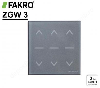 Panou de comanda wireless pentru fereastra ZWG3 Fakro de la Deposib Expert