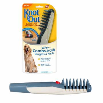 Perie electrica Knot Out pentu par caini si pisici de la Www.oferteshop.ro - Cadouri Online