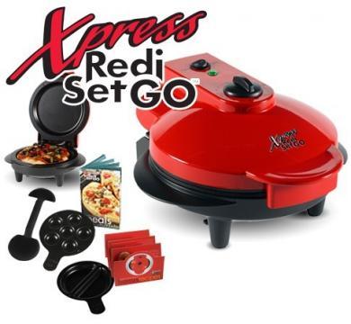 Plita electrica pentru pizza, briose, clatite Xpress Redi de la Www.oferteshop.ro - Cadouri Online