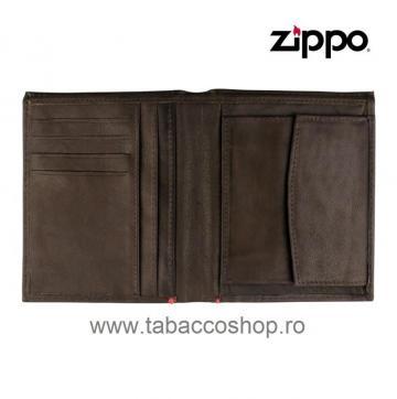 Portofel din piele Zippo Vertical de la Maferdi Srl