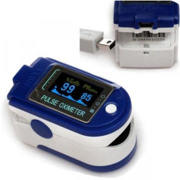Pulsoximetru profesional pentru a masurarea pulsului