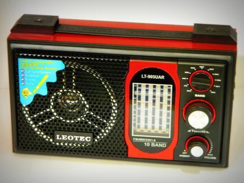 Radio MP3 portabil Leotec LT-905UAR World Receiver de la Preturi Rezonabile
