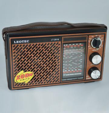 Radio portabil Leotec LT-2015 World Receiver