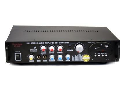 Statie de amplificare-amplificator karaoke USB-Radio-Card