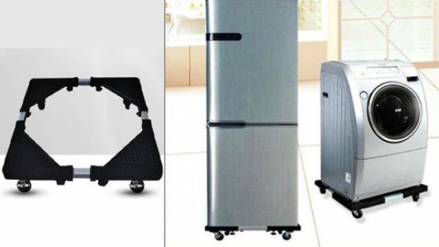 Suport mobil pentru frigider si masina de spalat cu roti