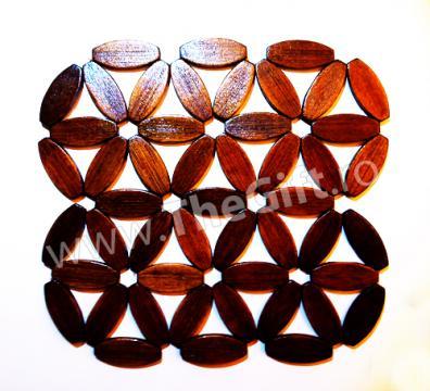 Suport pentru vasele calde din bambus de la Thegift.ro - Cadouri Online