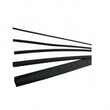 Tub termocontractibil 6 3mm, DRS 6-3 BK, negru, lungime 1m de la Viva Metal Decor Srl