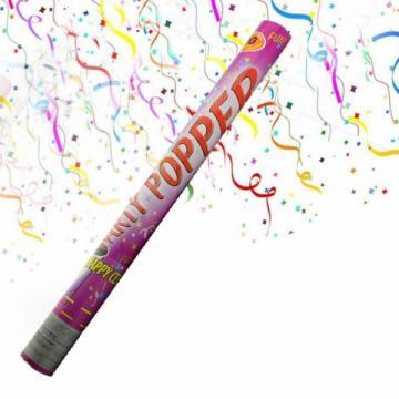 Tun de confetti pentru evenimente festive 96 cm
