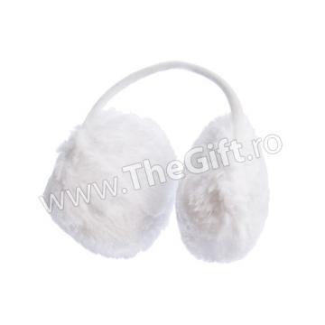 Urechi pufoase de iarna in forma de casti
