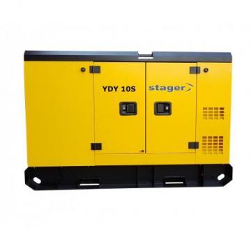 Generator de curent insonorizat 10 kVA, YDY10S Stager
