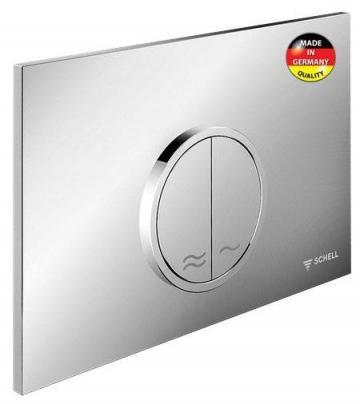 Placa de actionare WC Schell Montus Circum alb de la Axa Industries Srl