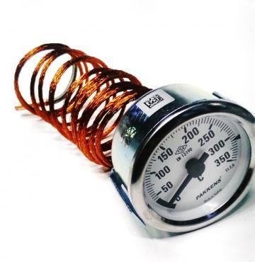 Termometru mecanic 0...350C, 60mm, bulb 6x22mm