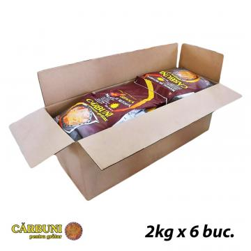 Carbune pentru gratar 6 saci de la Explocom Gk Srl