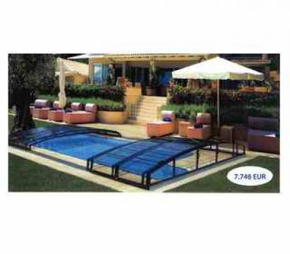 Acoperiri piscine Casablanca Infinity de la Alfanautic Piscine SRL