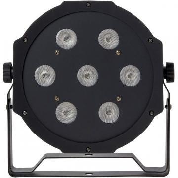 Proiector lumini PAR LED RGBW, cu 7 leduri 70W