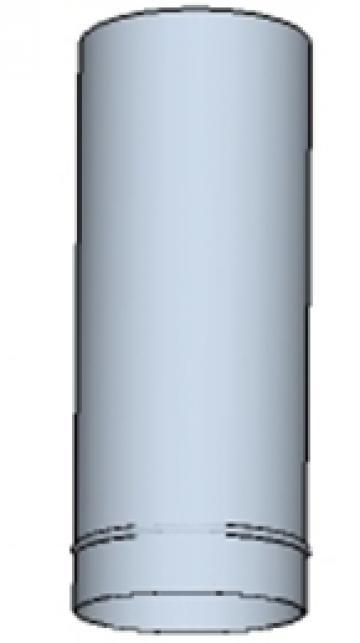 Tub rotund din otel inoxidabil 100 200mm