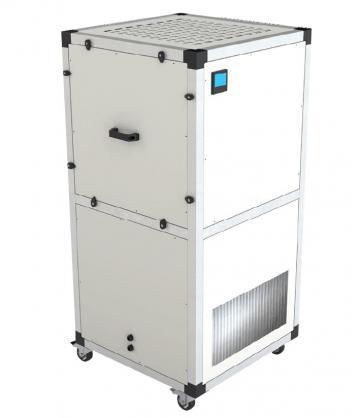 Unitate purificare aer mobila UPM/EC-400-F9-CG