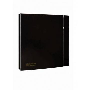 Ventilator de baie Silent-200 CZ Black Design - 4C