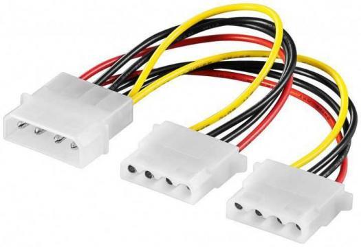 Cablu HDD/ 5.25 tata> 2 HDD/ 5.25 mama de la Mobilab Creations Srl