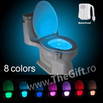 Lumina cu senzor pentru toaleta de la Thegift.ro - Cadouri Online