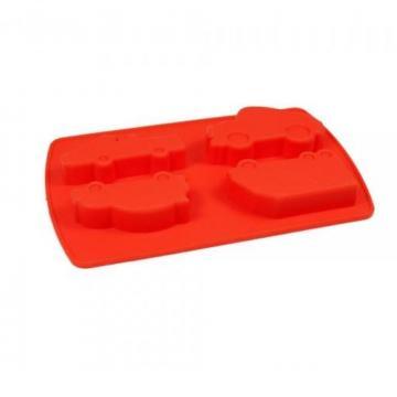 Forma din silicon pentru prajituri Masini si camioane de la Plasma Trade Srl (happymax.ro)