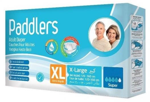 Scutece adulti, marimea XL - XLarge, 120 buc/set