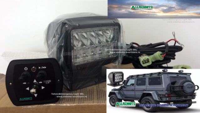 Proiectoare cautare 220 Series LED de la Tehnic & Emergency Light Srl
