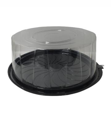 Caserola premium tort baza neagra 29,7xh11,25cm, 50 buc/set de la Cristian Food Industry Srl.