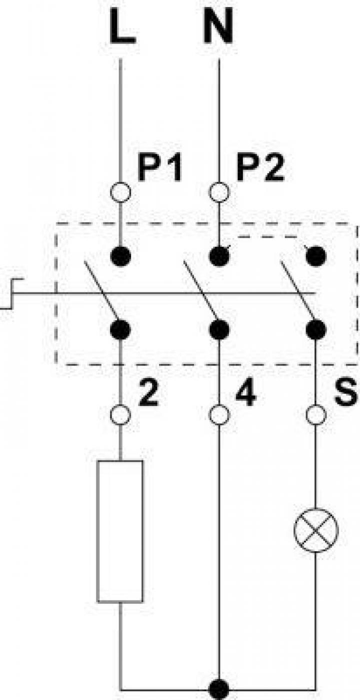 Regulator energie 13A/230V, rotatie dreapta