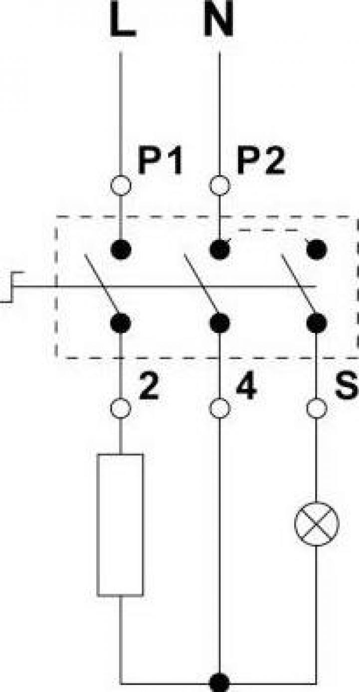 Regulator energie 13A/240V, rotatie dreapta, ax 6x4.6mm