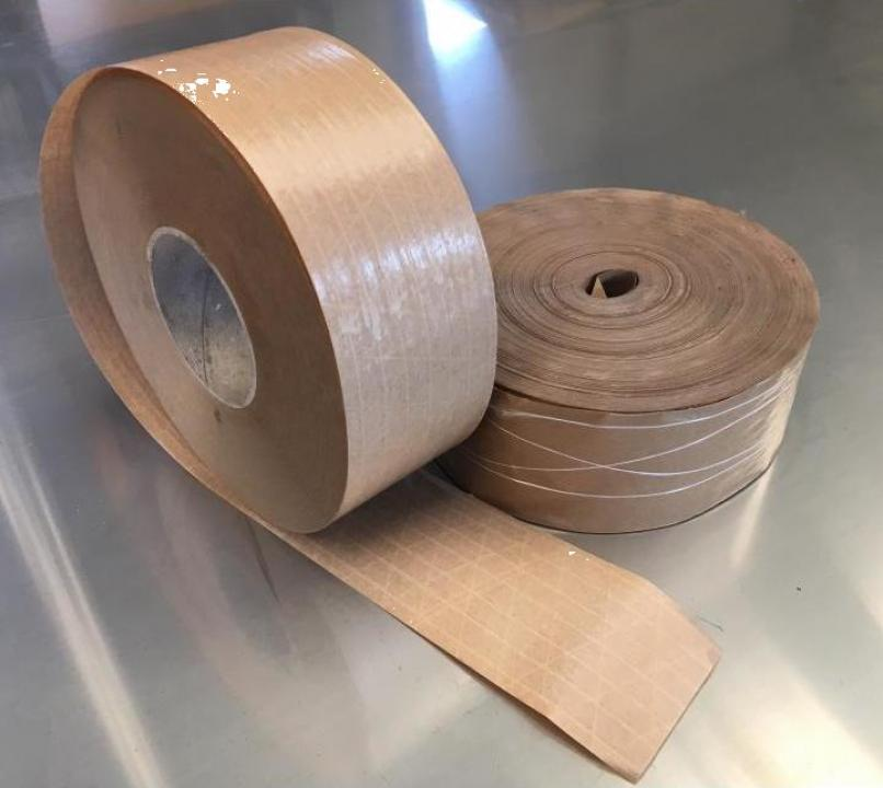 Banda adeziva - scotch cu insertii de fibra de sticla